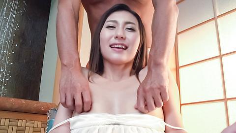 加藤麻耶 - 美乳美形ギャル~グループフェラ - Picture 10