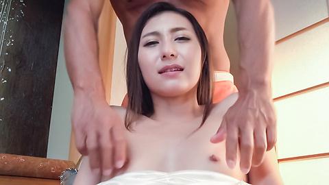 加藤麻耶 - 美乳美形ギャル~グループフェラ - Picture 12