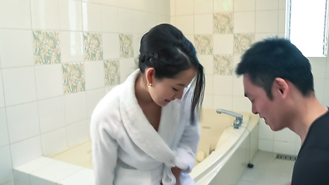 Anna Mihashi - Arousing wife makes magic with her Asian blowjob  - Picture 12
