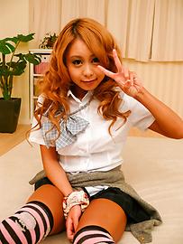 Yuno Shirasu - ยูโนะ ชิราสุ ซนเอเชียวัยรุ่นได้รับการโกนหีเลีย -  1 รูปภาพ