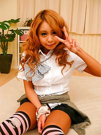 Yuno Shirasu - ยูโนะ ชิราสุ ซนเอเชียวัยรุ่นได้รับการโกนหีเลีย -  2 รูปภาพ