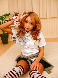 Yuno Shirasu - ยูโนะ ชิราสุ ซนเอเชียวัยรุ่นได้รับการโกนหีเลีย -  3 รูปภาพ