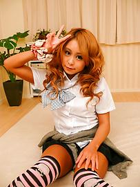 Yuno Shirasu - ยูโนะ ชิราสุ ซนเอเชียวัยรุ่นได้รับการโกนหีเลีย -  4 รูปภาพ