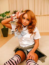 Yuno Shirasu - ยูโนะ ชิราสุ ซนเอเชียวัยรุ่นได้รับการโกนหีเลีย -  5 รูปภาพ