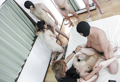 Asian amateur group porn with needy girls