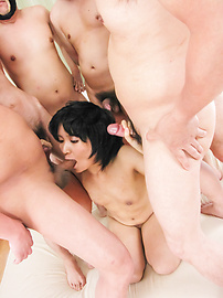 Saki Umita - Saki Umita gets her fill of cock and asian anal sex - Picture 4