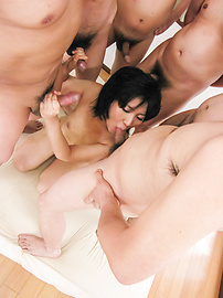 Saki Umita - Saki Umita gets her fill of cock and asian anal sex - Picture 5