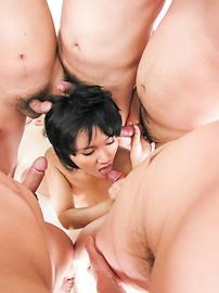 Saki Umita - Saki Umita gets her fill of cock and asian anal sex - Picture 8