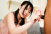 Nice oral by Japanese gal with big tits Jun Mamiya  Photo 2