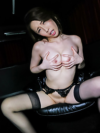 Aya Kisaki - Mature Aya Kisaki in Asian amateur sex video - Picture 7