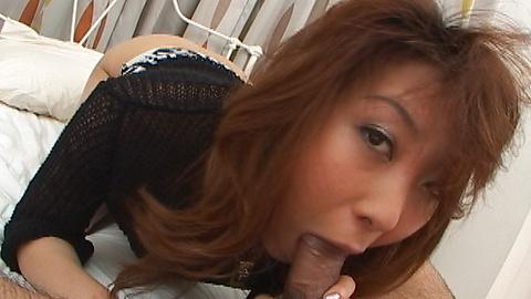 Ayumi Haruna - Japanese bunny Ayumi Haruna ride her mans erected salami - Picture 2