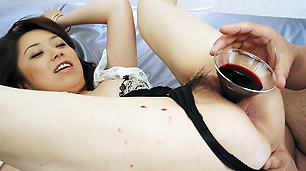 Rough porn play for curvy ass Asian milfChihiro Misaki