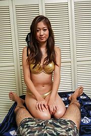 Risa Misaki - ดูดไก่สาวเอเชียชอบที่จะกลืนรึเปล่า -  5 รูปภาพ