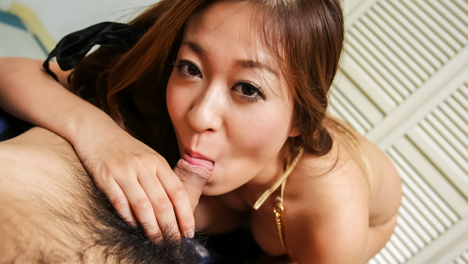 Special POV Japanese oral with sexyRisa Misaki