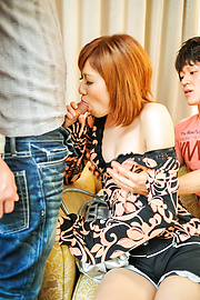 Kaorii - Asian milf blows cock until exhaustion in pure POV  - Picture 3