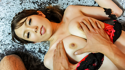 Yui Hatano - Yui Hatano gives Asian blow job before hardcore sex  - Picture 2