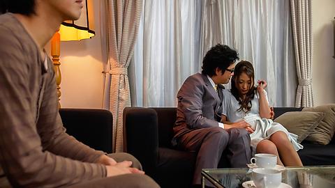 Aoi Miyama - Aoi Miyama enjoys threeosme in harsh manners  - Picture 2