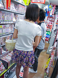 Ran Minami - Japanese Ran Minami fucked hard in a library - Picture 1