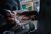 Japanese amateur sex in the car with Serina  Photo 10