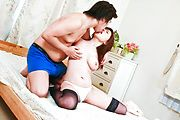 Busty Teen Aoi Mizumori Gets A Creamed Pussy Photo 10