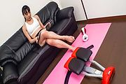 Sexy MILF Miho Wakabayashi pounded by Sex Toys Photo 1