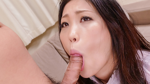 Naomi Sugawara - Naomi Sugawara giving alluring asian blowjob - Picture 12