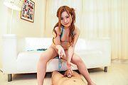 Foot fetish porn along Asian lingerie babe,Mika Nakagawa Photo 2