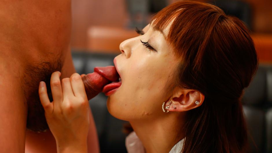 Asian blowjob withNonoka Kaedein threesome