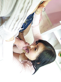 Miu Watanabe - Great Japan blowjob with steamy Miu Watanabe - Picture 12