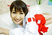 Gorgeous Japanese loves to play nasty on cam Photo 2