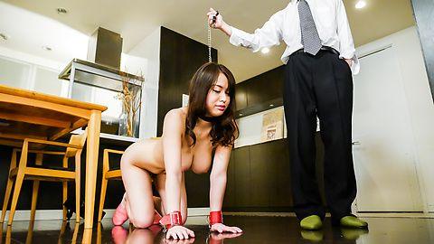 Hot Japanese bondage along bustyKaede Niiyama