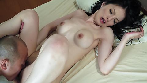 Miria Hazuki - Hairy Asian creampie along naughtyMiria Hazuki - Picture 8