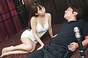 Sensual Yui Misaki enjoys cum down her pussy  Photo 2