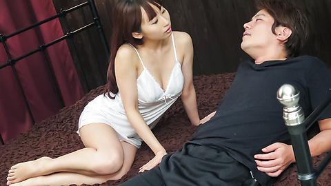Yui Misaki - Amazing Japanese blowjob by insolentYui Misaki - Picture 2