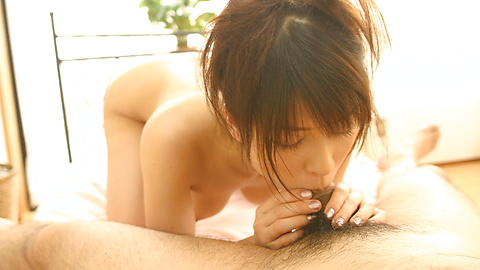 Hyori Shiraishi - Hyori Shiraishi shows how to lick and ride a cock well - Picture 5