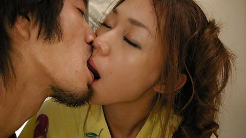 広田さくら - 浴衣美人に口内射精!広田さくら - Picture 5