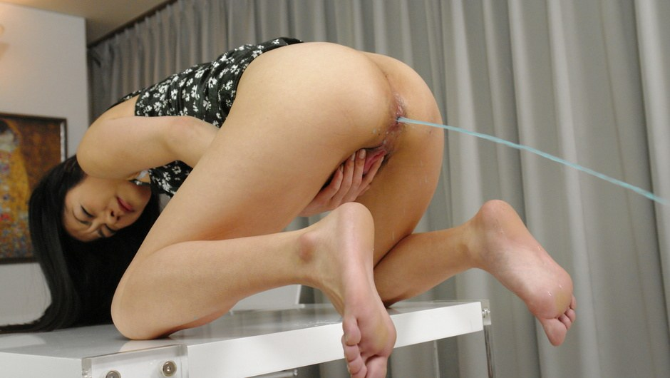 Kyoka Ishiguro Ass Fucked With Toys And Cock