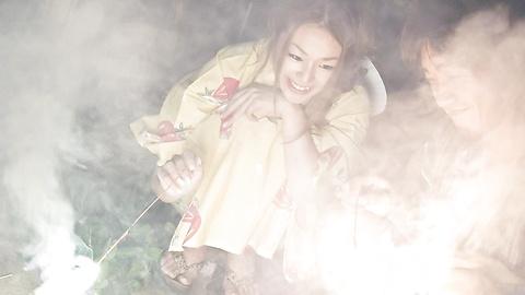 Sakura Hirota - Aksi menjilati intensif dan bercinta dengan Hirota, remaja manis Sakura - gambar 2