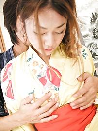 Sakura Hirota - Aksi menjilati intensif dan bercinta dengan Hirota, remaja manis Sakura - gambar 7