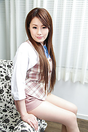 Runa Ayase - Young Runa Ayase in perfect Asian blow job event  - Picture 1