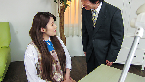 Runa Ayase - Young Runa Ayase in perfect Asian blow job event  - Picture 9