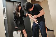 Asian blowjob by hot and naughty Kotomi Asakura Photo 1
