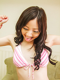 Ayane Okura - Ayane Okura gets off hard from asian dildos - Picture 5