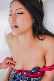Ren Azumi - Ren Azumi's MILF pussy needs a japanese dildo fucking - Picture 7