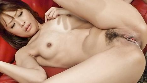Amazing japanese babe Maika gets ravaged in hardcore