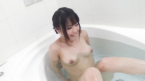 Kana Matsu - Asian amateur solo in the bath with Kana Matsu - Picture 11