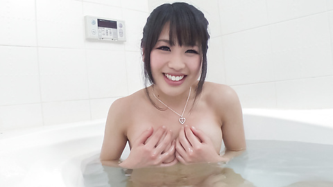 Kana Matsu - Asian amateur solo in the bath with Kana Matsu - Picture 3