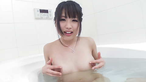 Kana Matsu - Asian amateur solo in the bath with Kana Matsu - Picture 4