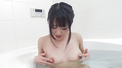 Kana Matsu - Asian amateur solo in the bath with Kana Matsu - Picture 5