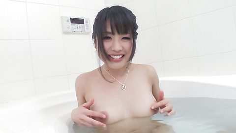 Kana Matsu - Asian amateur solo in the bath with Kana Matsu - Picture 6